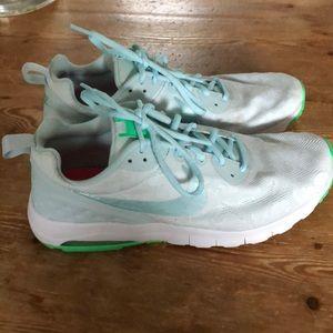 Nike air sneakers, worn 1x, size 11